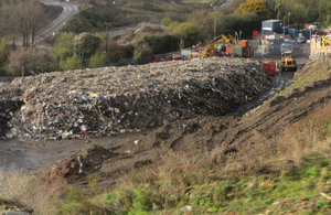 waste transfer site